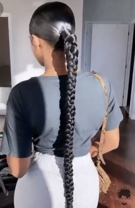 85 Elegant Ponytail Hairstyles for Special Occasions The Secret of Beauty is Hidden in Braided Hair 82