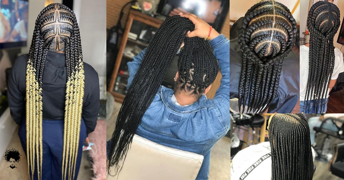 The Easiest 44 Ghana Braids You Can Try at Home