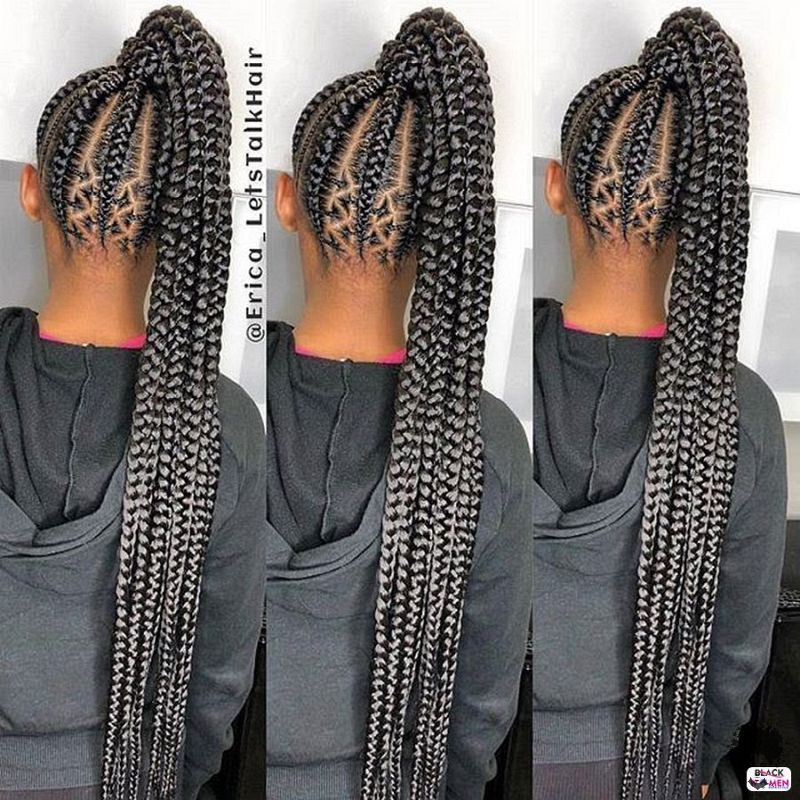 The Easiest Ghana Braids You Can Try at Home 30