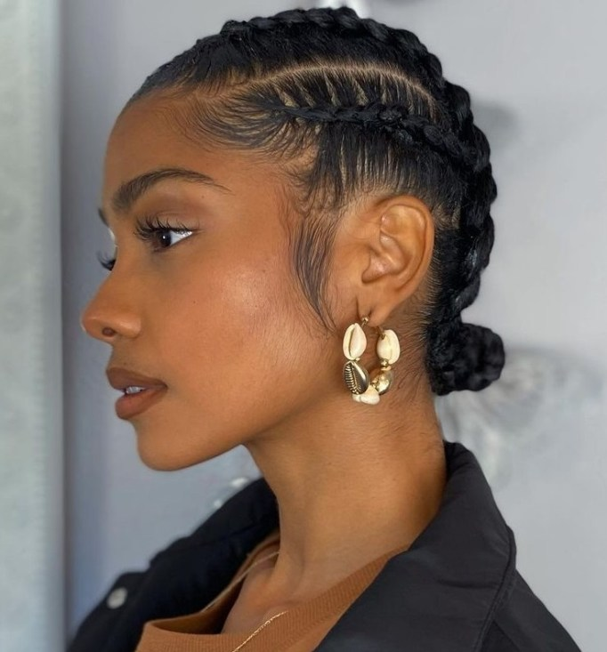 4 simple hairstyle with bun CKunQG2L2 5