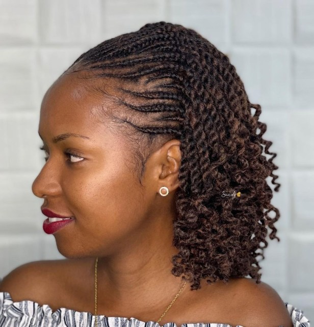 9 short hairstyle with curly ends CJ7pk2wHRcH